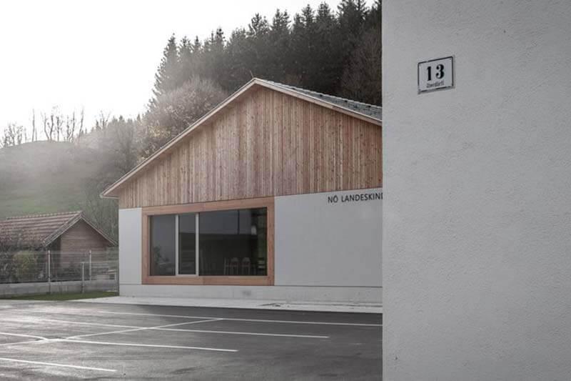 Lux Bau Referenz Kindergarten Ramsau