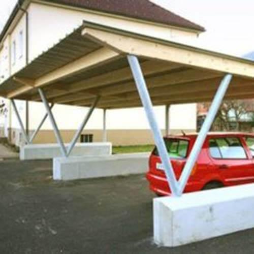 Lux Bau Zimmerei Carport
