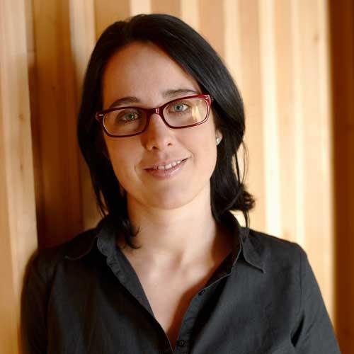 Lux Bau Mitarbeiterin Birgit Hauss