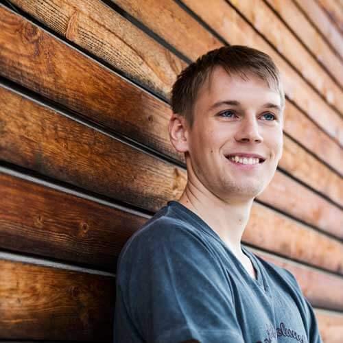 Lux Bau Mitarbeiter Florian Funk