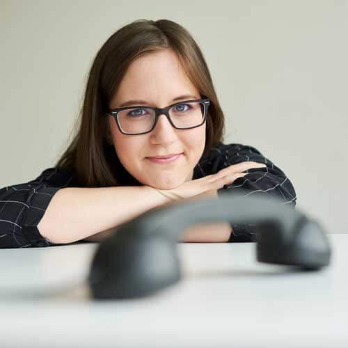 Lux Bau Mitarbeiterin Judith Oberleitner
