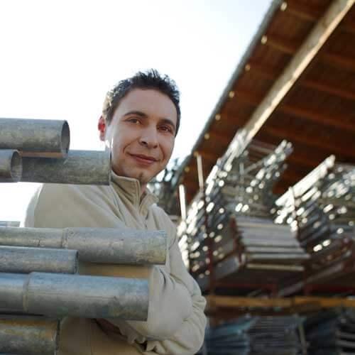 Lux Bau Mitarbeiter Leopold Mayerhofer