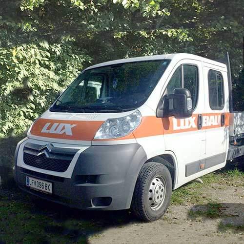 Lux Bau Lieferwagen