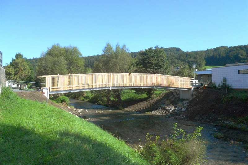 Lux Bau Referenz Brücke Hainfeld