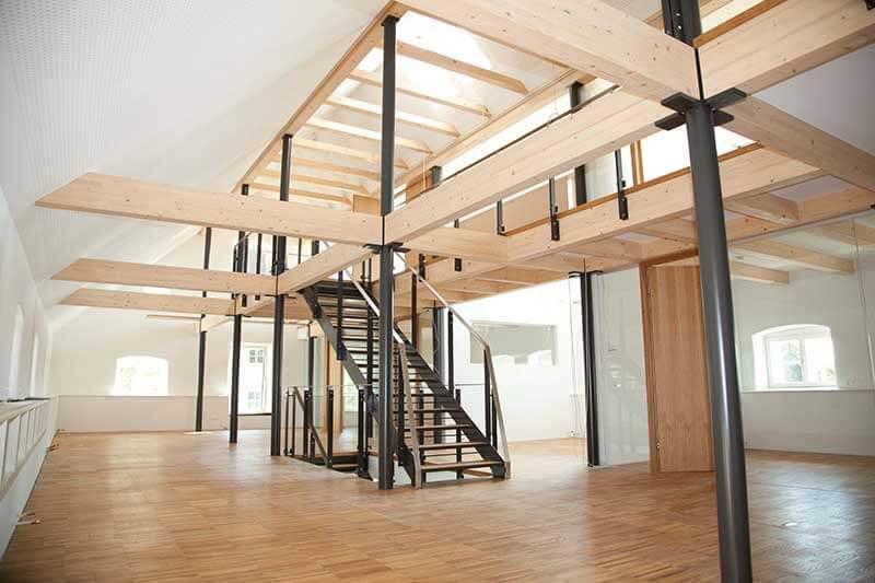 Lux Bau Referenz Büro im Wind