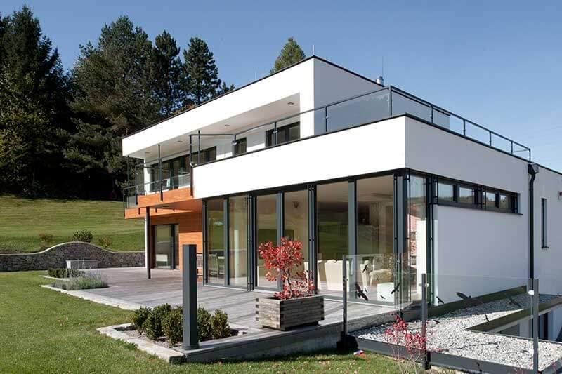 Lux Bau Referenz Einfamilienhaus Hainfeld