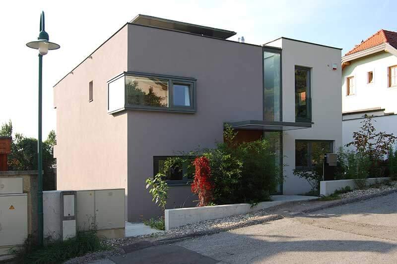 Lux Bau Referenz Einfamilienhaus Perchtoldsdorf