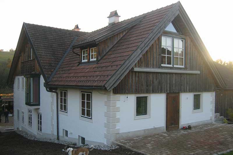 Lux Bau Referenz Fassade Laaben