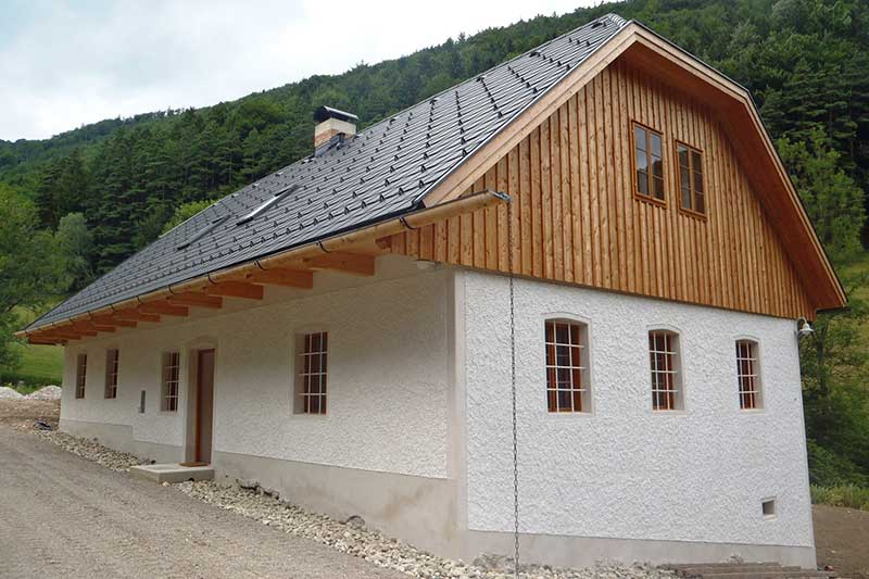 Lux Bau Referenz Generalsanierung Altes Bauernhaus