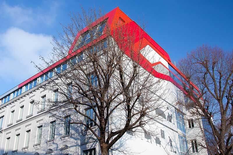 Lux Bau Referenz Generalsanierung Wohnhaus Wien