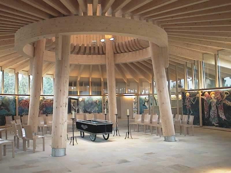 Lux Bau Referenz Kapelle Brunn