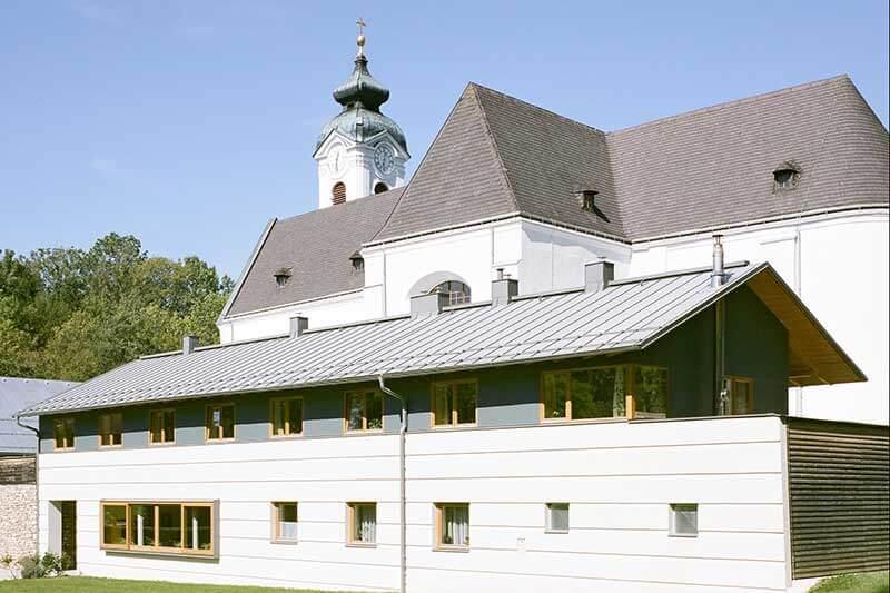 Lux Bau Referenz Klosterneubau Kleinmariazell