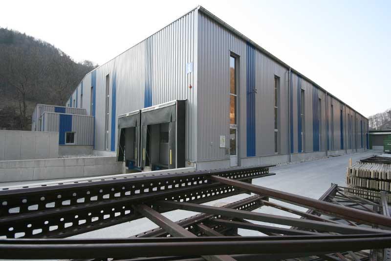 Lux Bau Referenz Lagerhalle Hainfeld