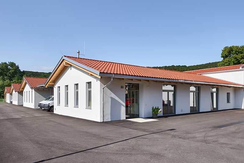Lux Bau Referenz Lebenshilfe Werkstatt
