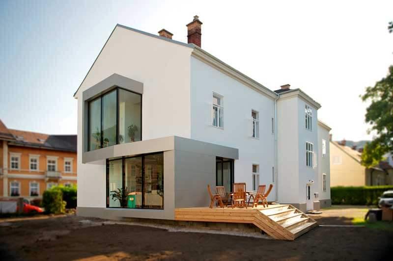 Lux Bau Referenz Sanierung Weissenbach