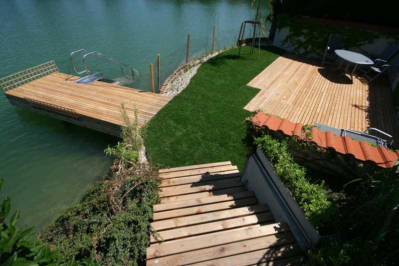 Lux Bau Referenz Uferneugestaltung
