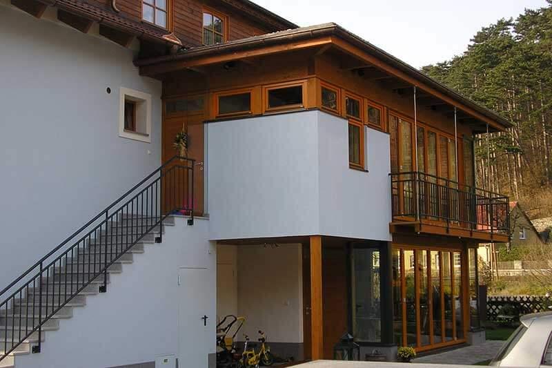 Lux Bau Referenz Wintergarten