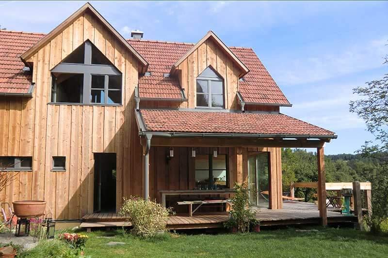 Lux Bau Referenz Zubau Bauernhaus