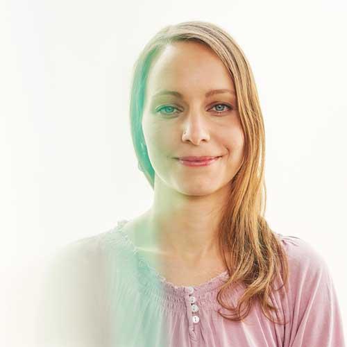Lux Bau Mitarbeiterin Marina Birkner