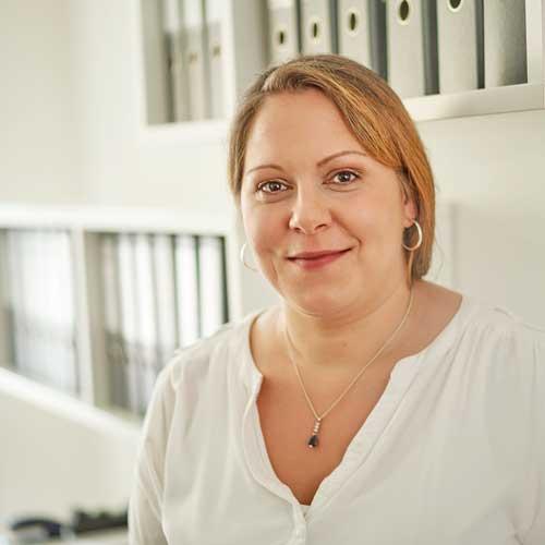 Lux Bau Mitarbeiterin Marion Schmidt
