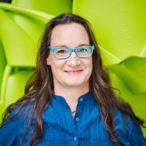 Lux Bau Mitarbeiterin Monika Nagl